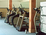 fitness and exercise room at the resort
