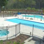 swimming pools at cottages at cultus lake